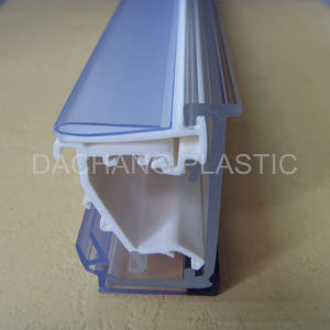 30mm High Bullnose Clear Plastic Shelf Talker pictures & photos