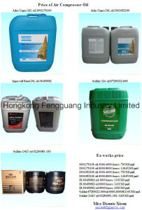Lubricant Oil Air Compressor Screw Auto Parts Oil pictures & photos