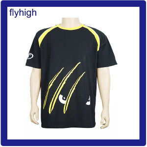 European Standard Fashion Round Neck T-Shirt pictures & photos