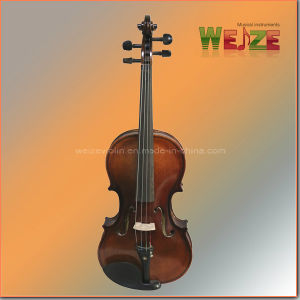 Flamed Plywood Entry Level Student Violin pictures & photos
