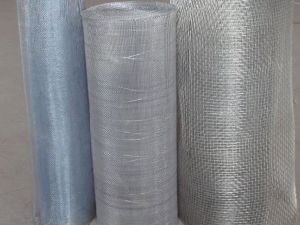 Galvanized Iron Square Woven Wire Mesh pictures & photos