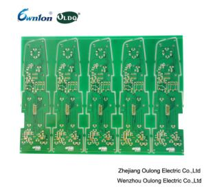 Enig Gold Green Mask Double Sided PCB pictures & photos
