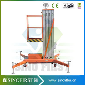 5m Clean Window Aloft Electric Mobile Hydraulic Working Lift Platform pictures & photos