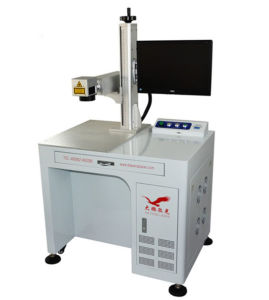 CNC Fiber Laser Tube Marking and Engraving Machine pictures & photos