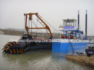 Kaixiang Cutter Suction Dredger with Large Capacity pictures & photos