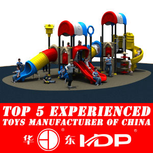 2014 New Outdoor Plastic Playground Set (HD14-037A) pictures & photos
