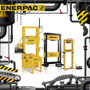 Original Enerpac Bpr-Series Roll-Frame Presses (Bpr-5075) pictures & photos
