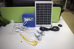 Cheap 10W off Grid Solar Home Lighting Kit pictures & photos