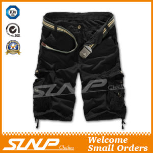 100% Cotton Cargo Shorts Clothes for Men