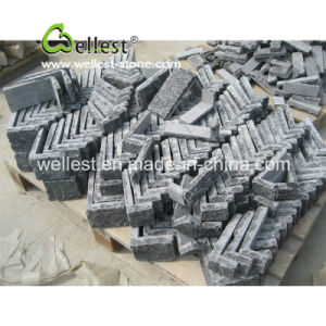 Factory Direct Supply Black Stacked Loose Stone and Corner pictures & photos