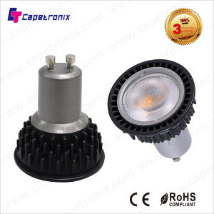High Efficiency Warm White Dimmable LED Spot Light 5W