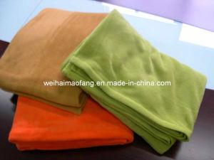 Very Soft 100%Polyester Polar Fleece Picnic Blanket pictures & photos