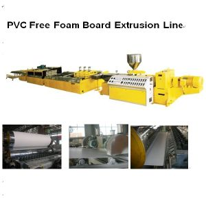 LMSB80/156 PVC Free Foam Board Extrusion Line pictures & photos