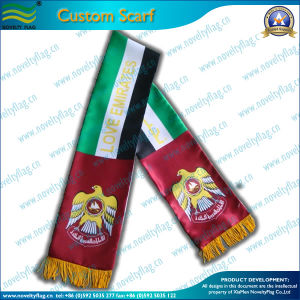 Custom Printing Sports Fan Scarf 15X130cm (NF19F10001) pictures & photos