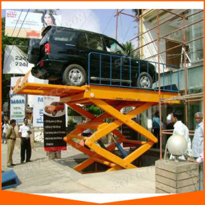 Ce Certfication Hydraulic Electric Scissor Lift for Car pictures & photos