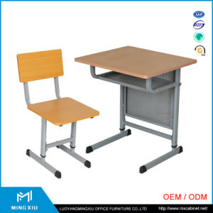 Low Price Cheap Modern School Desk and Chair / Adjustable School Desk and Chair pictures & photos