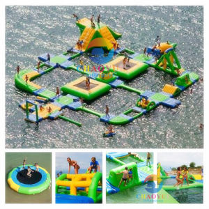 Customized Floating Inflatable Water Park Equipment for Water Sports pictures & photos