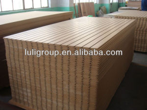 16mm 18mm Melamine Slatwall MDF Supplier pictures & photos