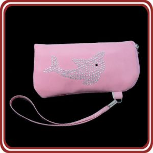 OEM Pink Velvet Mobile Phone Pouch pictures & photos