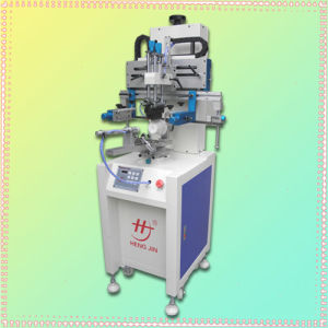 Precision Cylindrical Screen Printing Machine for Bottles, Cups, Pens
