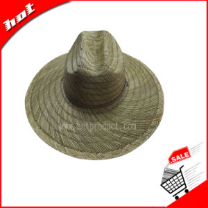 Rush Straw Hat Hollow Straw Hat Handmade Straw Hat pictures & photos