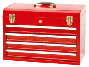 Metal Drawer Portable Tool Box (TBD134G) pictures & photos