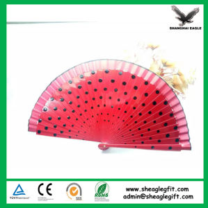 Customized Cheap Korea Bamboo Gift Fans Wholesale pictures & photos