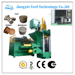 Cast Iron Briquette Press Metal Chips Briquette Machine (High Quality) pictures & photos
