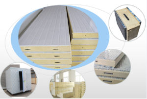 Freezer Room Thermal Insulation PU Polyurethane Panel for Cold Storage