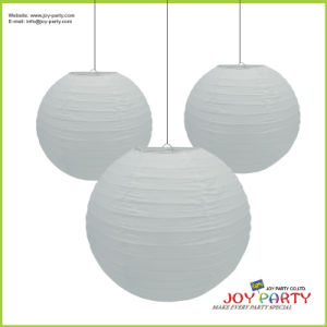 Round Hanging Paper Lanterns for Wedding Party Event