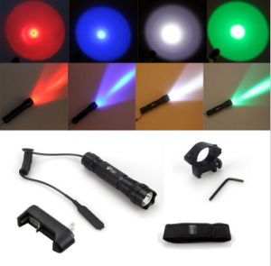 CREE T6 10W 18650 Remote Switch LED Rechargeable Flashlight pictures & photos