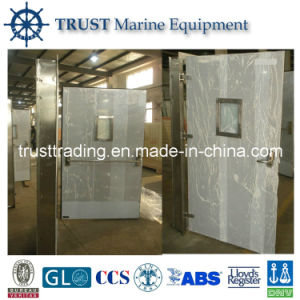 A60 Gastight Weathertight Single Leaf Fire Proof Stainless Steel Door pictures & photos