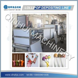 Depositing Type Lollipop Production Line (150-600KG/HR) pictures & photos
