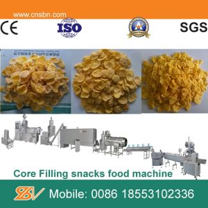 Automatic Stainless Steel Crispy Cereal Corn Flakes Machinery pictures & photos