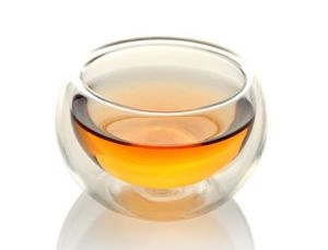 50ml Clear Double Wall Glass Tea Cups pictures & photos