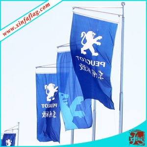 Polyeser Advertising Flags on Road, Advertising Banners on Street pictures & photos