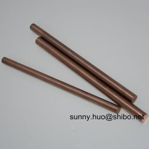 High Quality Wolframcopper Rod, Cu25W75% Rod for EDM pictures & photos