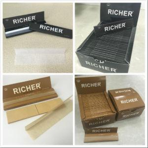 14GSM Hemp Cigarette Rolling Paper Natural Arabic Gum Fsc. SGS pictures & photos