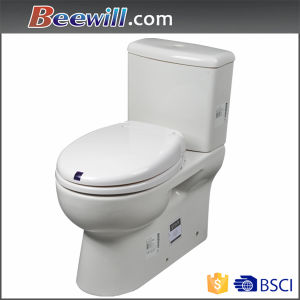 Automatic Polished Soft Close White Toilet Seat pictures & photos