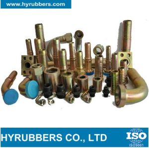 Professional Hyrubbers Hydraulic Hose Fittings and Adapters pictures & photos