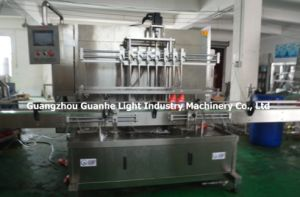 Automatic Liquid Detergent Filling Machine with Piston-Type Filling and Capping pictures & photos