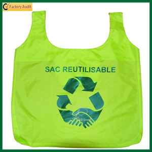 Green Recycled Shopping Tote Polyester Bag (TP-SP260) pictures & photos