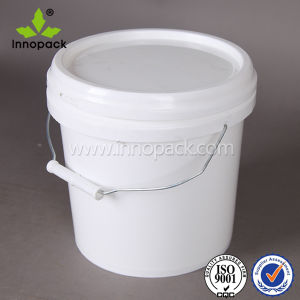 20 Liter 5gallon Water Bucket Plastic Pail pictures & photos