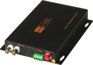 2CH Video Fiber Optic Converter (2V1D)