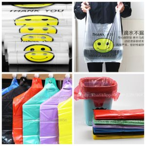 Gfq-1000 T-Shirt Plastic Film Bag Machine pictures & photos