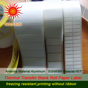 Pre Printed Direct Thermal Label Paper Roll (TPL-009) pictures & photos