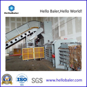 Horizontal Auto Baler Paper Packing Machine with PLC System pictures & photos