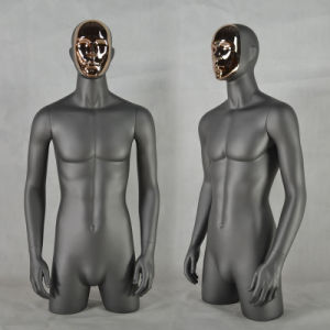 Changeable Face Fiberglass Male Bust Mannequin From Yazi Manufacturer pictures & photos