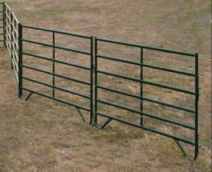 Portable Horse Livestock Cattle Panel/Steel Corral Panel for Ranch pictures & photos
