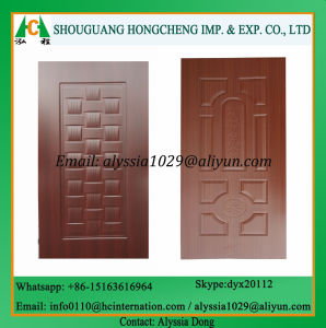 Melamine Faced Door Skin pictures & photos